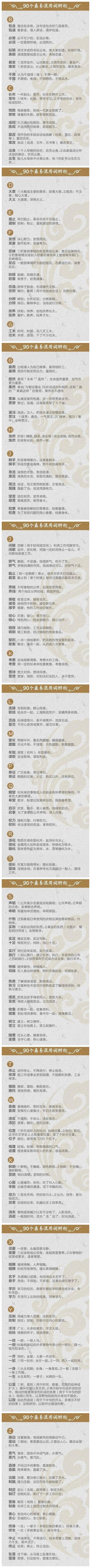 盘点90个最易混用词辨析,2020年江苏省考加油!
